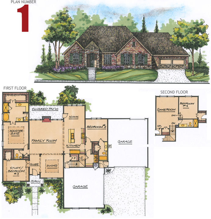 Tulsa Home Builders Floor Plans Home Flooring Ideas